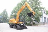Excavador de la rueda de 15 toneladas con Ourtigger