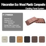 Painel de parede composto material recicl 100% da madeira WPC de WPC