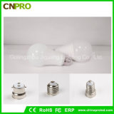 Lampade della lampadina di CC 48V 9W A19 LED di CA di bassa tensione del commercio all'ingrosso della fabbrica del LED
