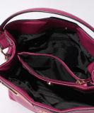 Sacchetto di spalla di cuoio della borsa delle donne dell'unità di elaborazione del grano della mucca di modo