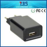 O Ce aprovou 1 carregador portuário da parede do USB do telefone móvel