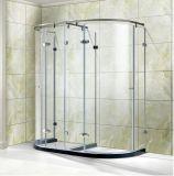 Frameless 5/16-Inch-Thick effacent la pièce jointe de douche de compartiment de douche en verre Tempered
