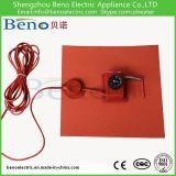Almofada de calefator da borracha de silicone do termostato do controle de temperatura da maquinaria do poder superior