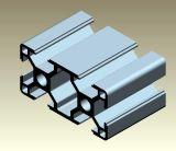 Production en aluminium de profil d'extrusion en aluminium de bâti