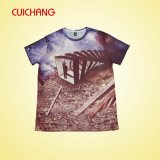 Chaud-Selling ! ! ! Le plein T-shirt de sublimation, conçoivent le T-shirt en fonction du client