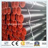 Galvanizado en caliente de tubos de acero para el poste de la cerca