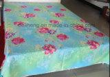 Tissu estampé par coton 100% mou de Handfeeling pour le drap