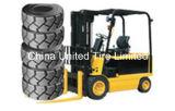 Neumático sólido 4.00-8, 5.00-8, 6.00-9, 700-12, 815-15. de la carretilla elevadora