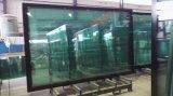 地下鉄10mmの緩和されたガラスのドア