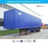 12.5 Трейлер коробки Axle метра 3 или Van Полуприцеп