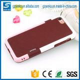 Caisse antichoc hybride de téléphone de Walnutt pour le bord de Samsung S6/S6 Edge/S6 plus