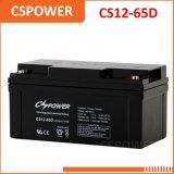 AGM van de Opslag van Ce 12V65ah Batterij voor Zonne en UPS