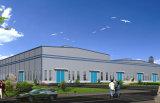 Entrepôt léger moderne de structure métallique de grande envergure (KXD-SSW199)