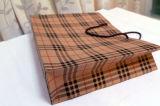 クラフトプリント紙袋のショッピングギフトのアートペーパーのキャリアのタイのちょうネクタイのズボンのコートの寝具の記事のシーツ(E018)のための装飾的な宝石類のパッキング袋