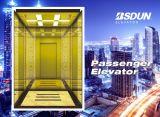 De commerciële Lift van de Passagier van Gearless van het Hotel zonder de Zaal van de Machine van de Lift
