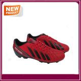 Sapatas vermelhas das mulheres dos homens do futebol do futebol para a venda (YHF019)