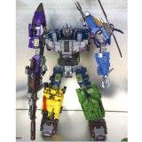 Supermann-Plastik-LKW-Modell-Deformations-Roboter-Krieg-Spielzeug