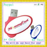 USB Flash Drivve (gc-663) del USB Drive 256MB dell'OEM Swivel Metal Gift Items