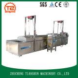 Casse-croûte faisant frire automatique de machine faisant frire faire frire de boucles d'oignon de machine