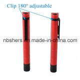Clip magnétique tournant léger de travail de poche de lumière de travail de crayon lecteur de 6 SMD DEL