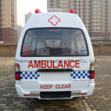 Gasoline Engine를 가진 직업적인 Supplier Rhd 2WD Middle Roof Ambulance