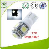 12V Auto-Licht des Weiß-5050 SMD T10 LED