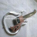 Guitarra elétrica dos fotorreceptores acrílicos de Dan Armstrong dos coletores do Emg do corpo