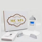 Dispositivo Galvanic dos TERMAS de Microcurrent do micro medidor da massagem do levantamento de face da pele do encarregado atual