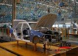 La cadena de producción de la soldadura del marco del coche