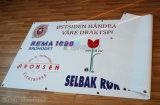 Изготовленный на заказ полный напечатанный цвет рекламирующ напольное знамя с свободно Gromments