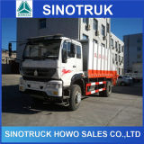 12cbm HOWO 4X2 Compactor Garbage Truck para Sale