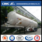 Cimc Huajun Bulk Fronte-Lifting Grain Powder Tanker con Rear Discharge