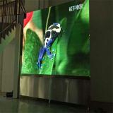 Adelgazar la pantalla de visualización fundida a troquel de LED del alquiler P4
