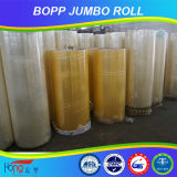 Rodillo enorme claro de la cinta adhesiva de la alta calidad BOPP