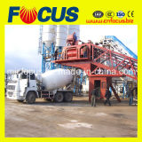 대중적인 75cbm/H Mobile Concrete Batching Plant