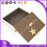 Caixa de empacotamento do presente feito sob encomenda luxuoso por atacado do cartão