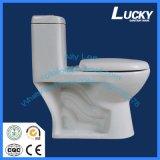 Toilettes grandes Toiet de courroie en céramique occidentale courante de type d'usine