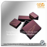 Caja de regalo de encargo del papel de chocolate dulce