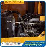 バケツが付いている1200kg多機能の小さいWeifangの車輪の小型ローダー
