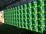 P3.91 P4.81 P6.25はダイカストの屋内使用料LEDスクリーン表示を