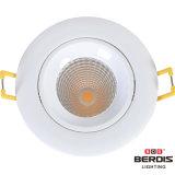 Alta iluminación ligera tamaño pequeño del marco LED del oro de la eficacia