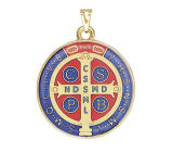 Médaille de couleur de Benedict de saint d'intervention