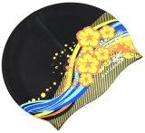 Protezione di nuoto adulta per il cappello di nuotata del silicone degli uomini delle donne