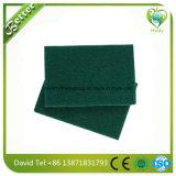 Tipos de lavagem da almofada de limpeza da esponja do prato da cozinha do fornecedor de China de esponjas da limpeza