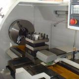 한 조각 바디 구조 편평한 침대 CNC 선반 (CKNC6136)
