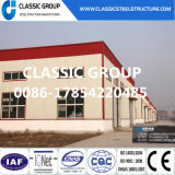 Almacén/taller prefabricados ligeros de la estructura del marco de acero