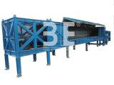 Shredder da tubulação/tubulação horizontais que recicl a máquina