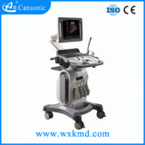 De goedkoopste Machine van Doppler Ultrasoud van de Kleur van het Karretje 4D voor het Ziekenhuis