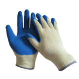 10g T/C Shell Construction Latex Coated Safety Gloves Work Glove