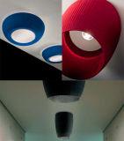 Потолочное освещение колокола рождества фонарика металла Silk ткани E27 самомоднейшего праздника Handmade круговое Multicolor